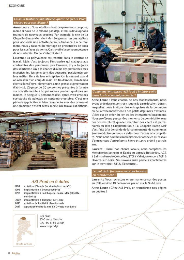 Article Pépites Magazine p.3