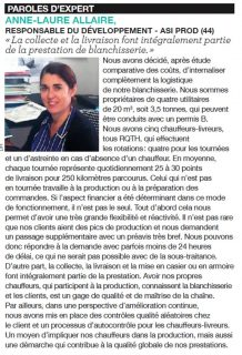 Article Entretien Textile Paroles d'expert